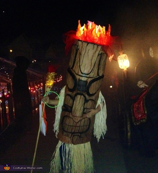 Tiki God Costume