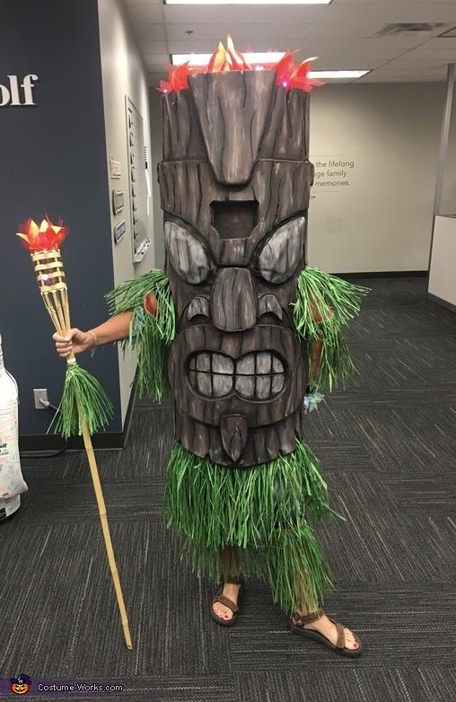 Tiki God Costume Unique Diy Costumes