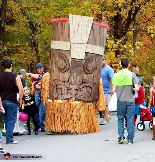 Tiki Man Costume