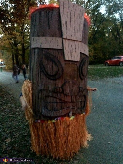 Tiki Man Homemade Costume