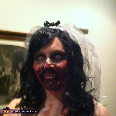 Zombie Bride, 'Til Death Do Us Part Costume
