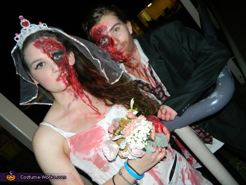 Till Death Do Us Part Homemade Costume