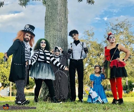 Tim Burton Fans Costume