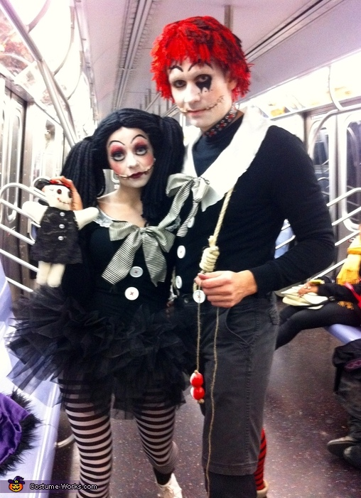 Tim Burton Inspired Raggedy Ann & Andy Costume