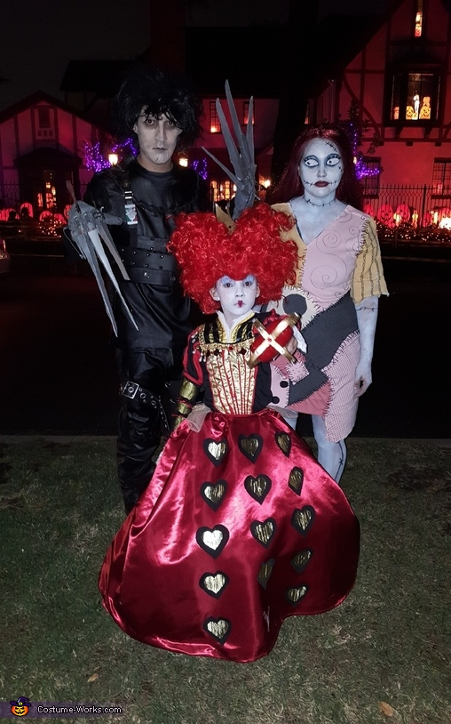 Tim Burton Presents Homemade Costume