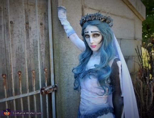Tim Burton's Corpse Bride Homemade Costume