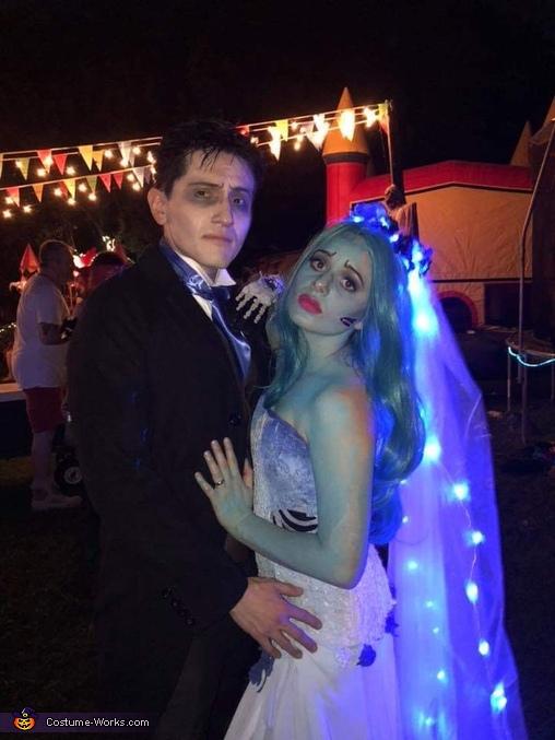 Tim Burton's The Corpse Bride Couple Costume