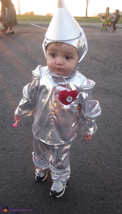 Tin Man - Homemade costumes for babies