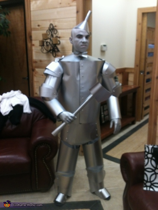 Tin Man - Homemade costumes for men
