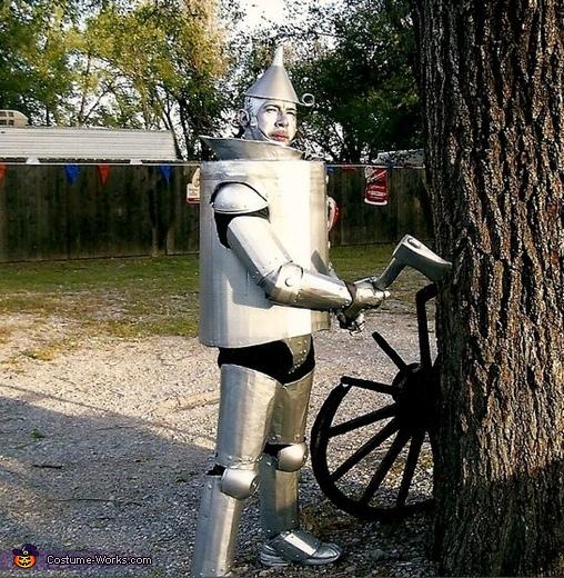 Tin Man, Tin Man Costume