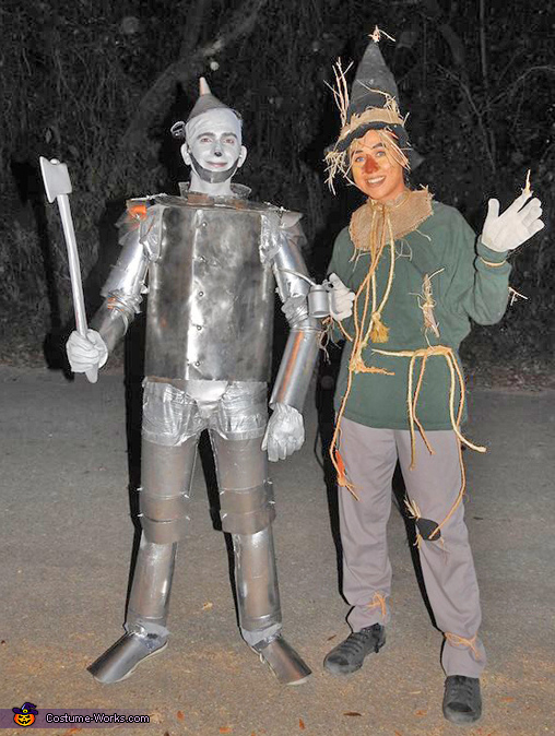 Tin Man and Scarecrow Costume