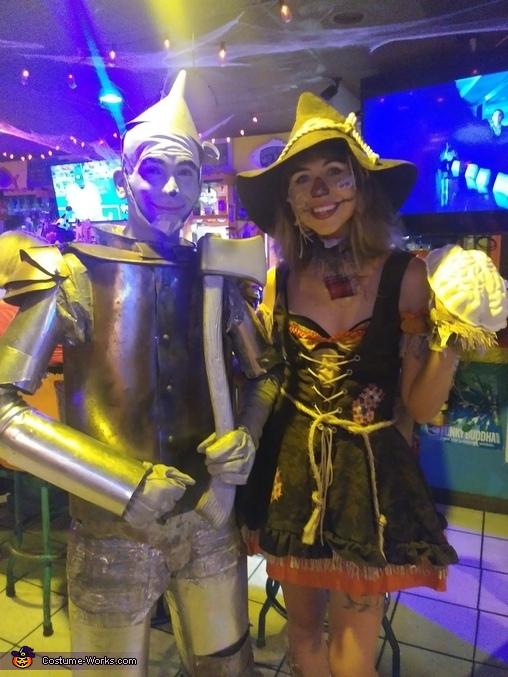 Tin Man and Scarecrow Costume