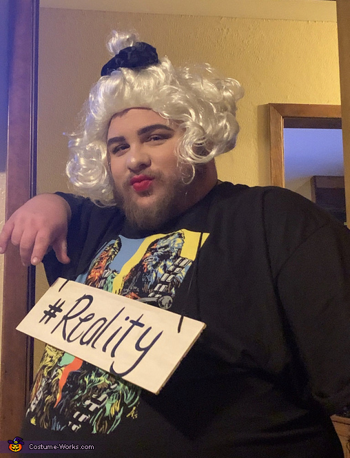 Tinder Vs. Reality Homemade Costume