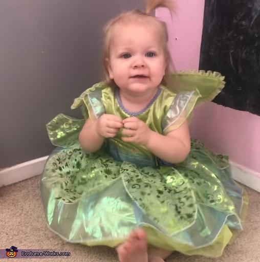 Tinker Bell Homemade Costume