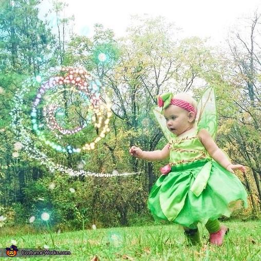 Leya ( tinker bell ) , Tinker Bell Baby Costume
