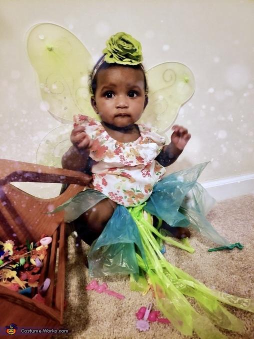 Tinkerbell Homemade Costume