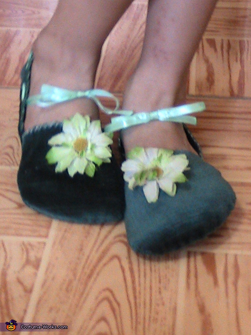 Tinkerbell shoes, Tinkerbell Costume