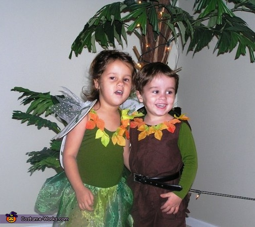 Tinkerbell and Peter Pan Costume