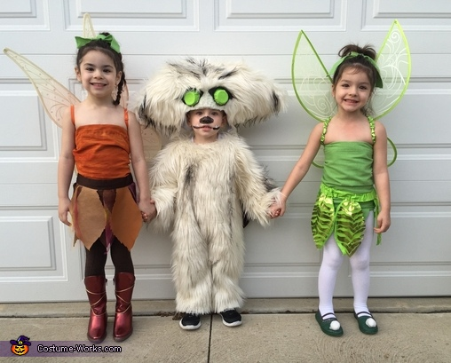 Tinkerbell, Fawn and the Neverbeast Costume