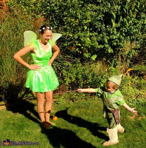 Tinkerbell & Peter Pan Costume