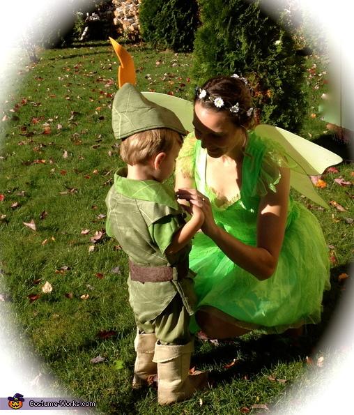 Tinkerbell & Peter Pan Homemade Costume