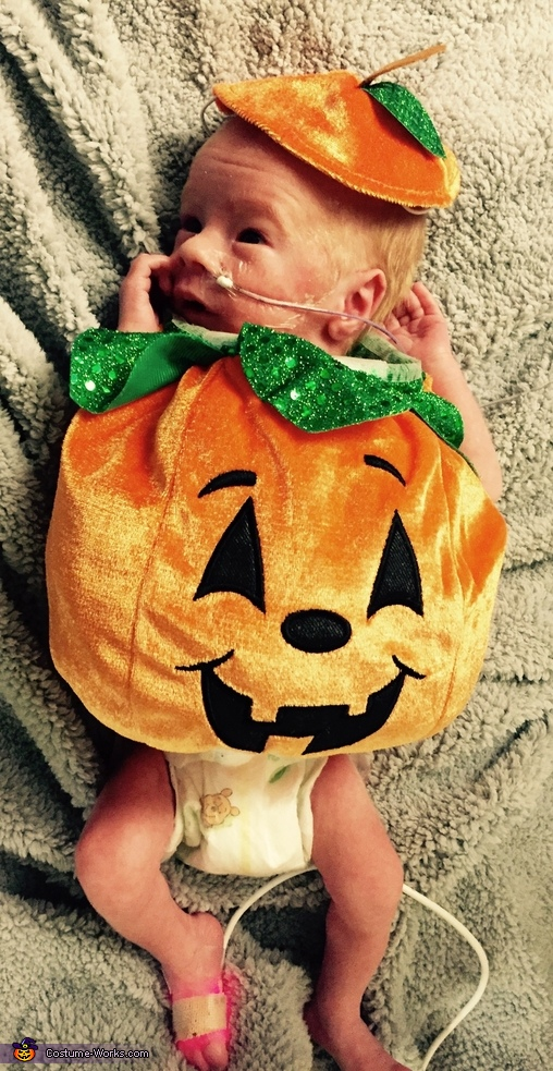 Tiny Cute Pumpkin Costume