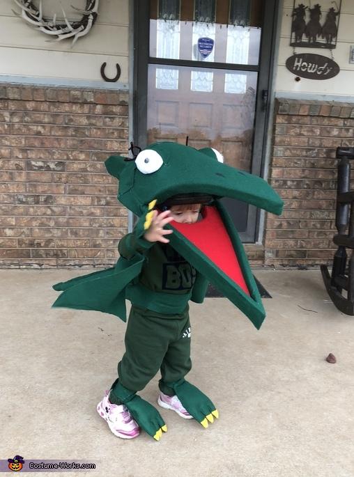 Tiny the Pteranadon from Dinosaur Train Costume