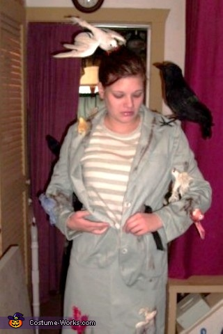 Tippi Hedren from The Birds Costume