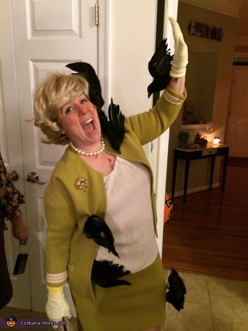 Tippi Hedren in The Birds Costume