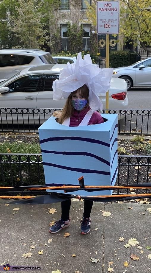 Tissue Box Costume