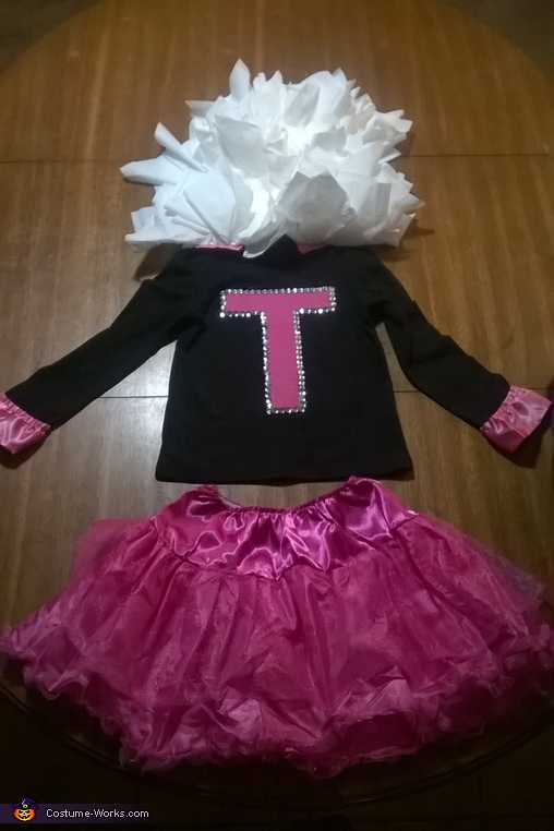 finished, Tissue Girl Costume