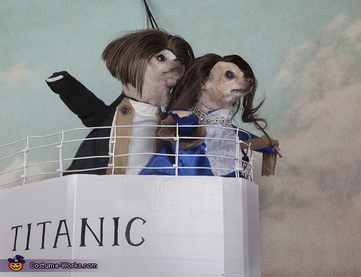 Titanic Dogs Costume