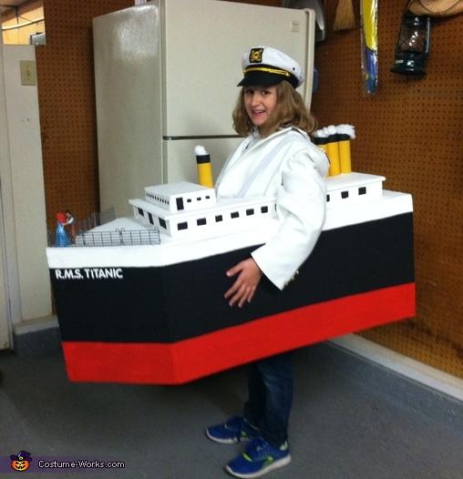 Titanic Rose Costume Kids