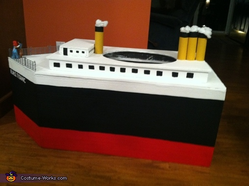 Side View , Titanic Costume