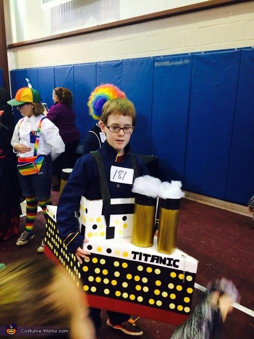 Titanic Boy Homemade Costume