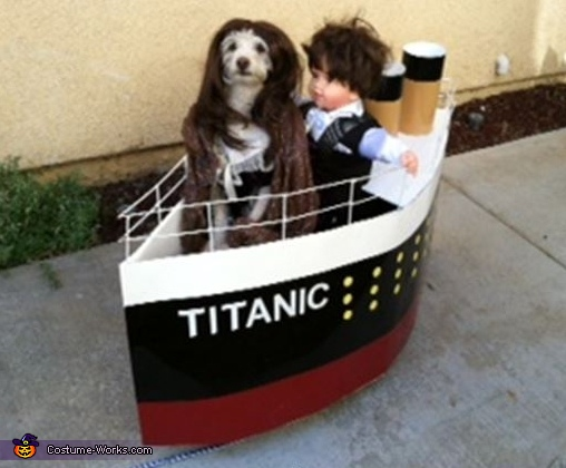 Titanic Dog Costume