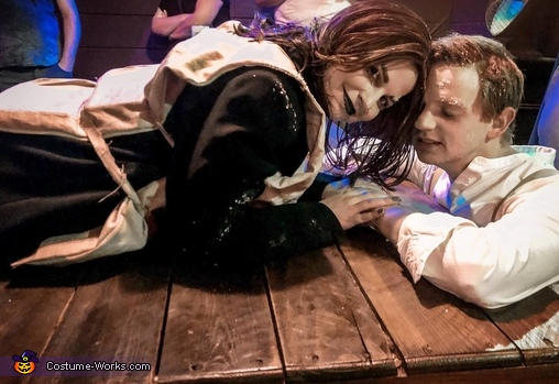 Titanic Frozen Jack & Rose Costume
