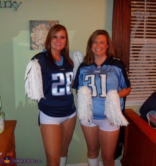 sc 1 st  Costume Works & Titans Cheerleader Costumes
