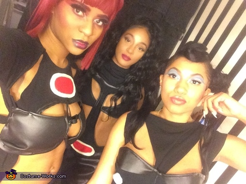 "Makeup perfectiion, TLC ""No Scrubs"" Costume"