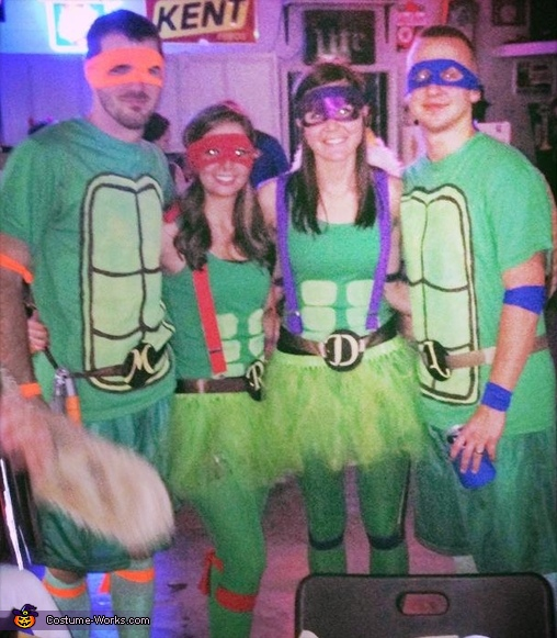The 4 of us, TMNT Costume