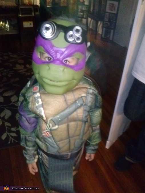 donnie, TMNT Family Costume