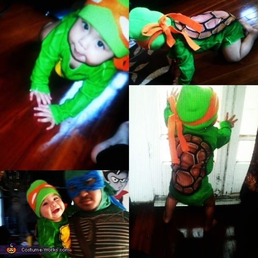 TMNT Family Halloween Costume
