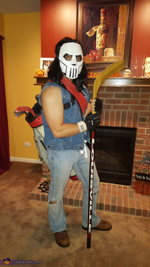 Casey Jones (dad), TMNT Family: Casey Jones, April Oneil, and Raphael Costume
