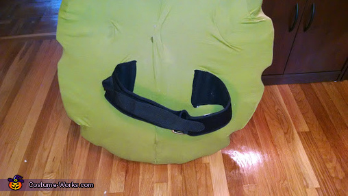 Weight lifting belt method for wearing shell, TMNT Leo Costume