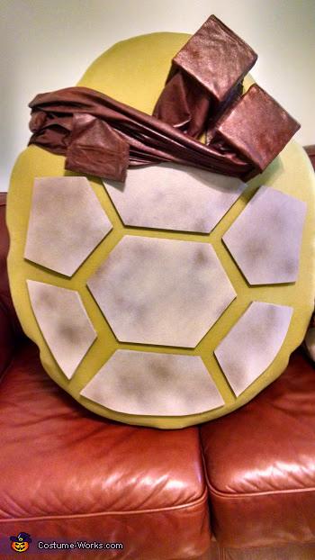 Shell tiles, TMNT Leo Costume