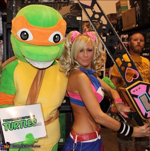 TMNT Michelangelo Mascot Costume