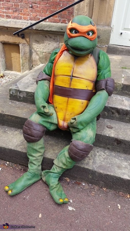 TMNT Mikey Homemade Costume