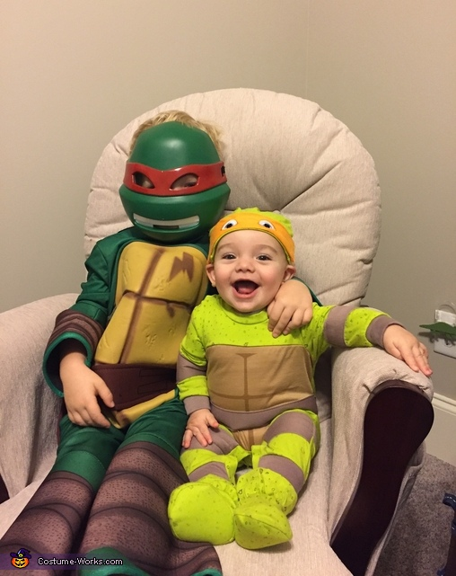 Raph & Mikey Costumes