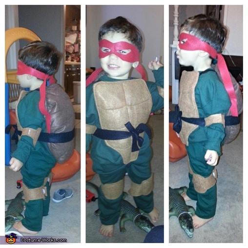 TMNT Raphael Costume