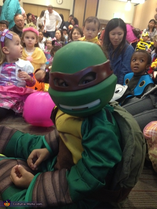 Shell Shocked!!, TMNT Raphael Costume